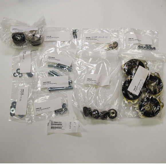 Replacement Kit Gear Suspension 12Y; S10, PN: S-10AA-12J