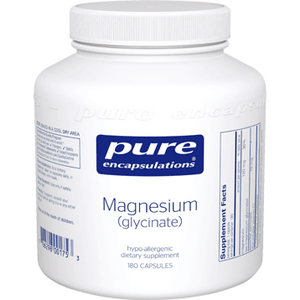 Magnesium (glycinate) 120 mg 180 vcaps Pure Encapsulations