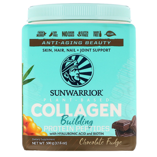 Collagen Plant Based Chocolate 20 serv SunWarrior