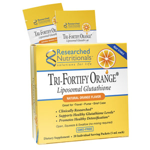 Tri-Fortify® Orange Box of 20 Individual Serving Packets