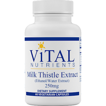 Milk Thistle Extract 250mg 60caps Vital Nutrients