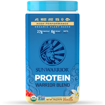 Warrior Blend Vanilla 30 servings 750g SUNWARRIOR