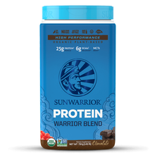 Load image into Gallery viewer, Warrior Blend Chocolate 30 servings 750 grams SUNWARRIOR