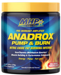 MHP Anadrox Pump & Burn Pre-Workout