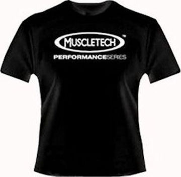 Muscletech Performance Series T-Shirt Plus FREE Shaker Cup