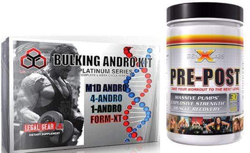 LG Sciences Bulking Kit with FREE GenXLabs Pre Post (CLEARANCE SALE)