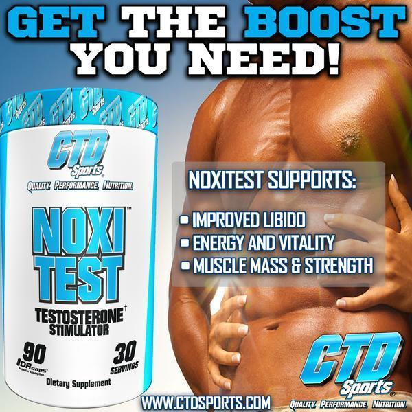 CTD Sports Test Booster CTD Labs Noxitest 90 Caps