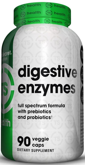Top Secret Nutrition Digestive Enzymes 90 VCaps