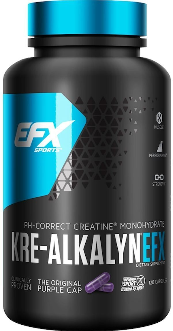 EFX Sports Creatine EFX Sports Kre-Alkalyn 120 caps