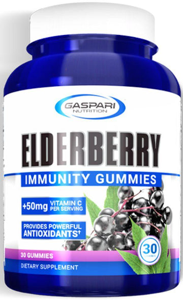 Gaspari Nutrition Elderberry Immunity Gummies 30 servings