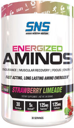 SNS Serious Nutrition Solutions  Energized Aminos