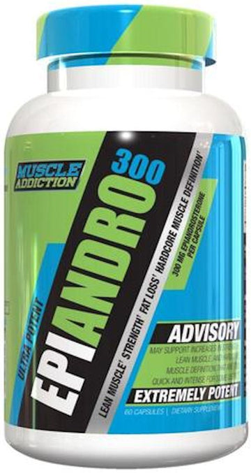 Muscle Addiction EpiAndro 300 60 caps.