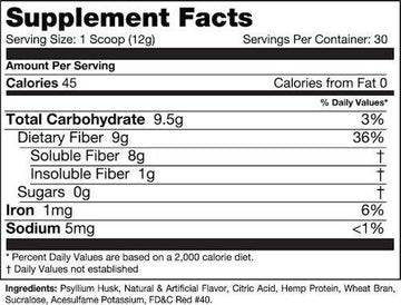 Species Nutrition Fiberlyze 30 servings