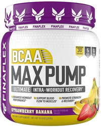 FinaFlex BCAA Strawberry Banana Smoothie Finaflex BCAA Max Pump