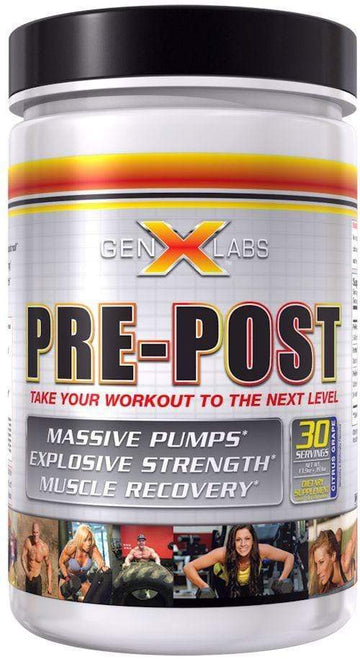 GenXLabs Pre-Post Workout FREE with any Muscle Stack Purchase (code: post)