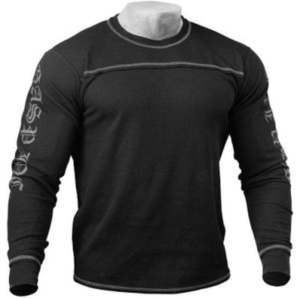 GASP Men Clothing GASP Men's Thermal Longsleeves Black