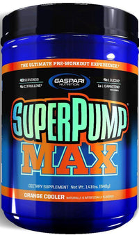 Gaspari Nutrition Muscle Pumps Orange Cooler Gaspari SuperPump MAX 40 servings