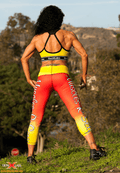 GenXlabs Active Print Legging Muscles-R-Sexy BLOWOUT SALE