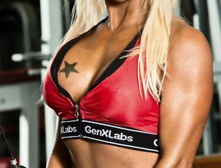 GenXLabs Accessories Women Clothing GenXLabs Sports Zipped Front Bra