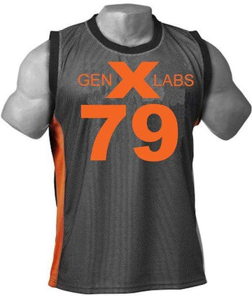GenXlabs Women Muscle Tank Top with FREE Shorts M.R.S Fitness Wear (Discontinue Limited Supply)