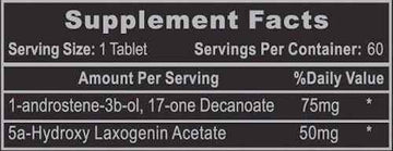 Hi-Tech Pharmaceuticals 1-AD 60ct CLEARANCE SALE