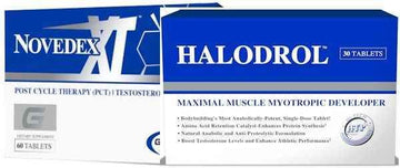 Hi-Tech Pharmaceuticals Halodrol and Gaspari Novedex XT Growth Stack CLEARANCE SALE