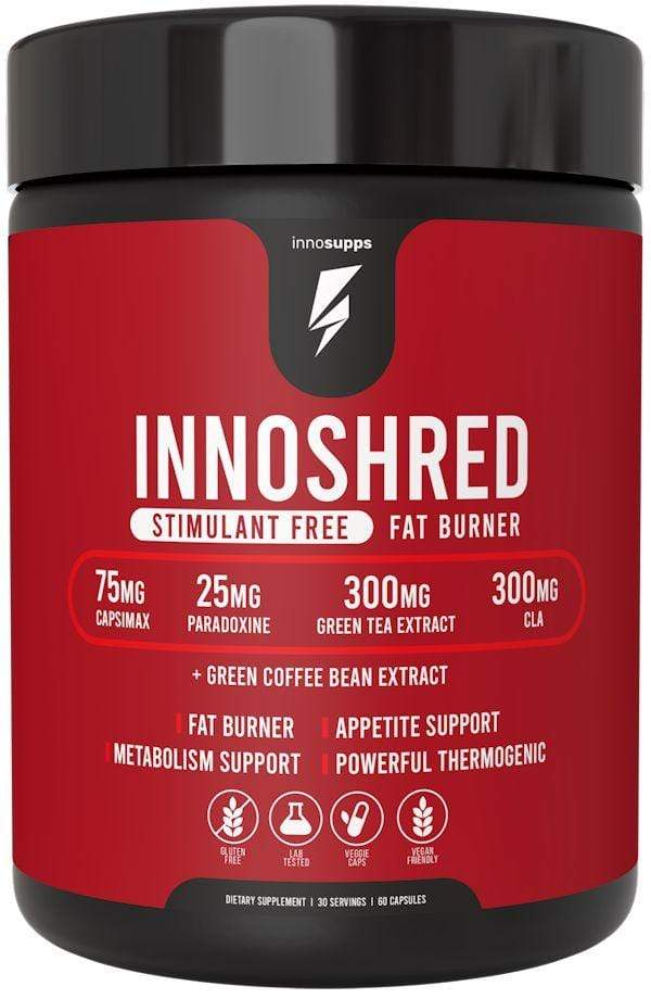 Inno Supps Grains of Paradise Inno Supps Inno Shred Stimulant Free 60 caps