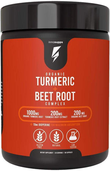 Inno Supps Organic Turmeric + Beet Root 60 caps