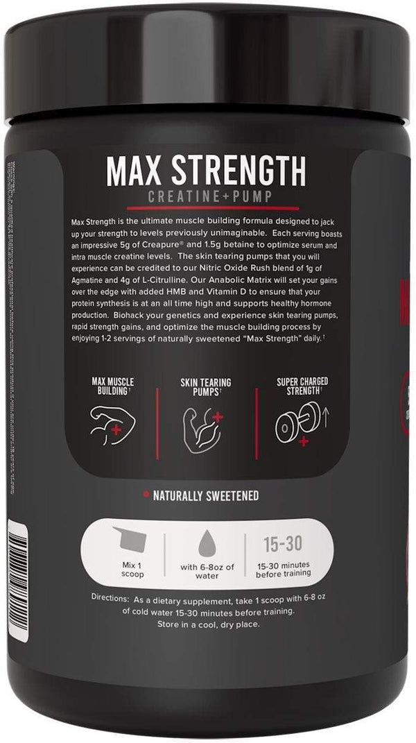 Inno Supps Muscle Pumps Inno Supps Max Strength 25 servings