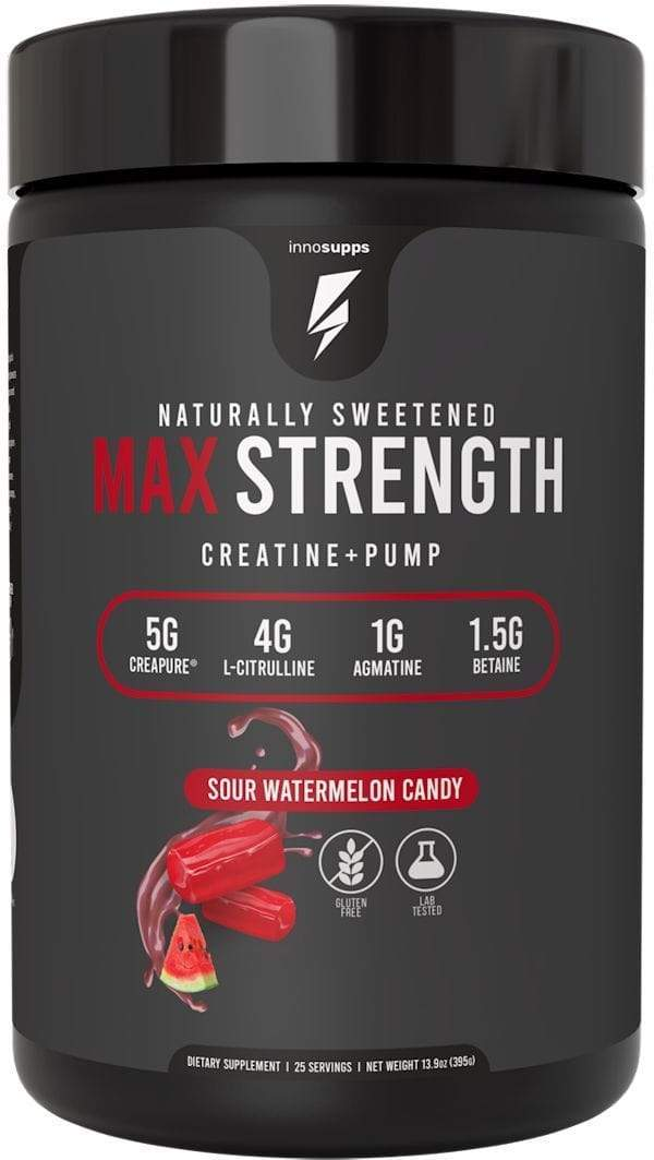 Inno Supps Muscle Pumps Sour Watermelon Inno Supps Max Strength 25 servings