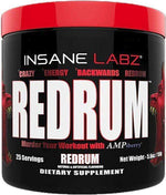 Insane Labz Muscle Pumps Insane Labz Redrum 25 servings