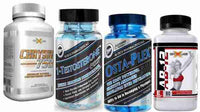 Hi-Tech Pharmaceuticals Mass Stack Osta-Plex, 1-Testosterone, GenXLabs Chysin 750 with FREE AB-12