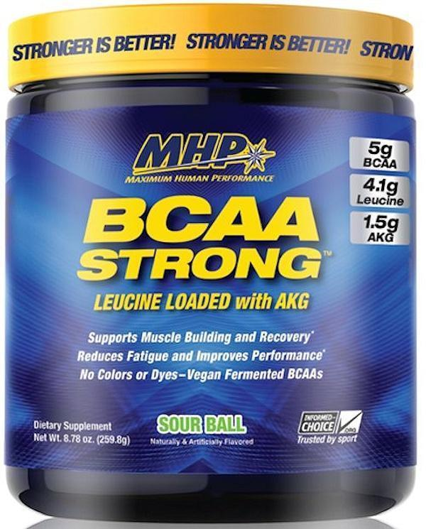 MHP BCAA Sour Ball MHP BCAA Strong