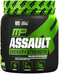 MusclePharm Creatine Green Apple MusclePharm Assault 30 servings