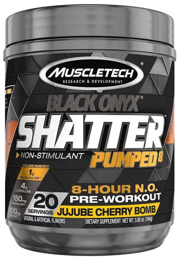 MuscleTech Shatter Pumped8 Black Onyx 20 servings