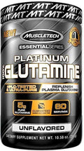 MuscleTech Platinum 100% Glutamine 60 servings