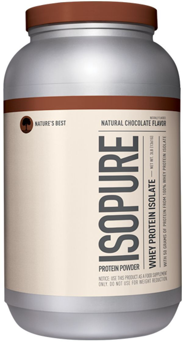 Nature's Best Protein Chocolate Isopure Natural Nature's Best 3 lbs
