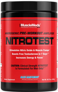 MuscleMeds Nitrotest Pre-workout