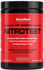 MuscleMeds Nitrotest Test Booster