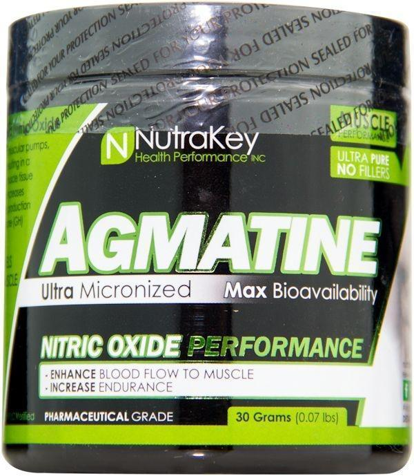 Nutrakey Muscle Pumps NutraKey Agmatine Powder 30gms