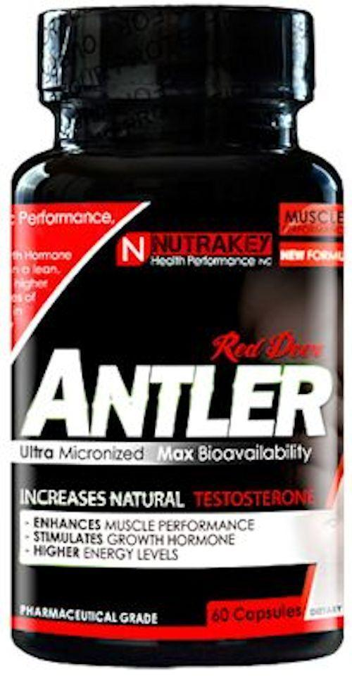 Nutrakey Test Booster Nutrakey Red Deer Antler 60 Caps
