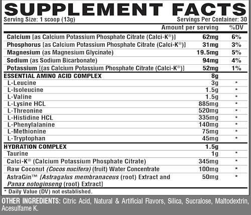 Nutrex Research BCAA Nutrex  EAA Plus Hydration