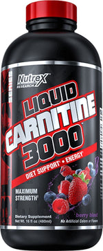 Nutrex Research Carnitine Berry Blast Nutrex Liquid Carnitine 3000