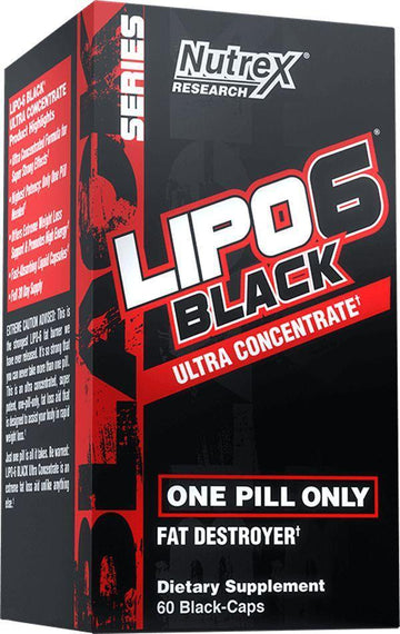 Nutrex Lipo-6 Black Ultra 60 caps Clearance