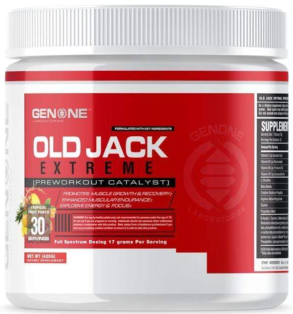 GenOne Labs Muscle Pumps GenOne Labs Old Jack Extreme 30 servings
