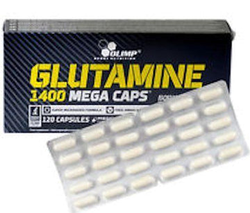 Olimp Labs Glutamine 1400 Mega 120 Caps. (Code: 20off)