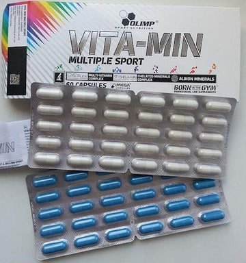 Olimp Labs VITA-MIN Multiple Sport 60 ct Clearance