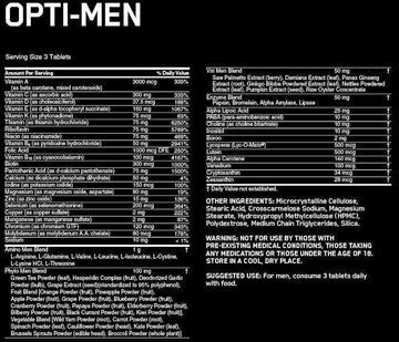 Optimum Nutrition Opti-Men 240 tabs BLOWOUT