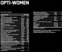 Optimum Nutrition Multi Vitamin Optimum Opti-Women 60 Caps