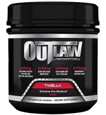 Outlaw Laboratory TriBulk Pre-Workout (Discontinue Limited Supply) BLOWOUT